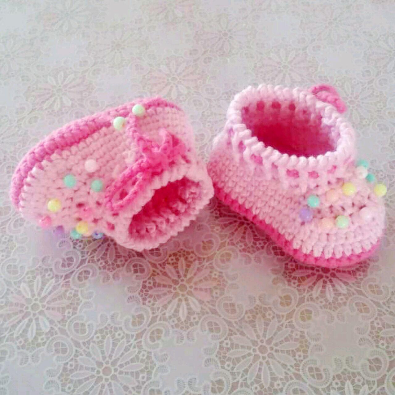 针织宝宝鞋