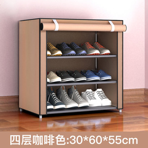 Shoe rack special offer home space saving modern multifunctional economy cloth dustproof student dormitory simple shoe cabinet small