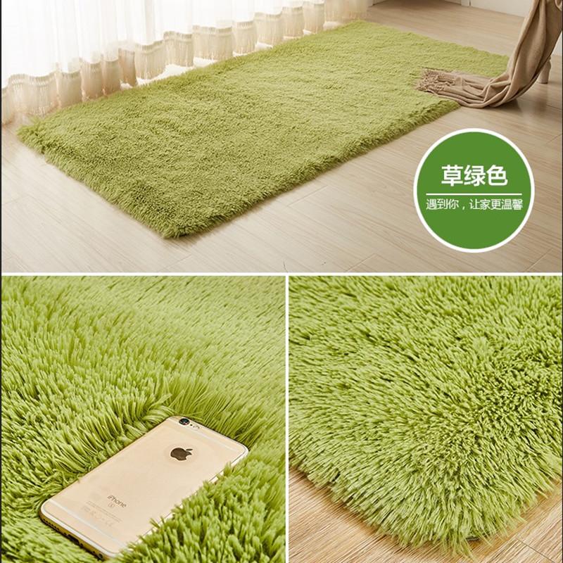 【天天特价】长毛毛绒飘窗地毯卧室客厅床边床头地毯家用定制满铺