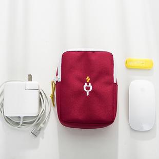 刺绣数码包手机耳机数据线整理包充电器袋充电宝移动电源收纳包