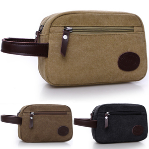 New Men's Clutches Canvas Clutches Men's Bags Casual Fashion Korean Clutches Large-capacity Coin Bag