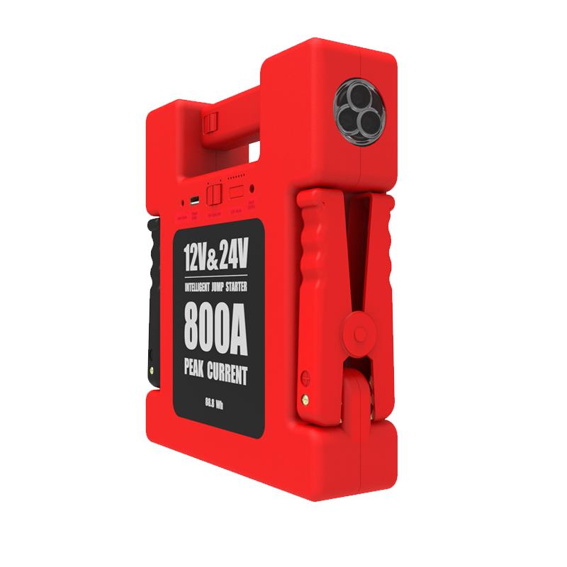 汽车应急启动电源12v/24v通用移动电源汽柴油启动过江龙电瓶搭电