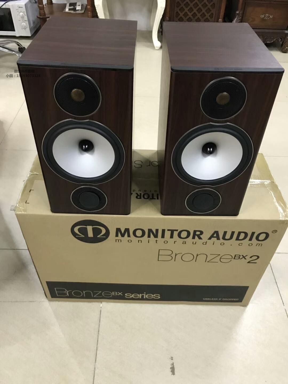 英国 Monitor Audio/猛牌 BX2  HiFi 书架箱 高保真音箱 库存样品