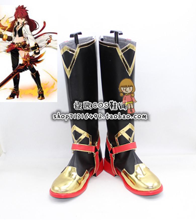 编号a5253 艾尔之光炽焰之心cosplay鞋动漫游戏cos鞋(可换高跟)
