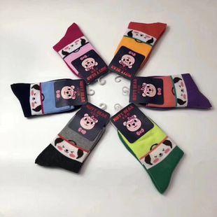 儿童袜 男女童运动袜 单双装 男袜  女袜  满10双包邮图片