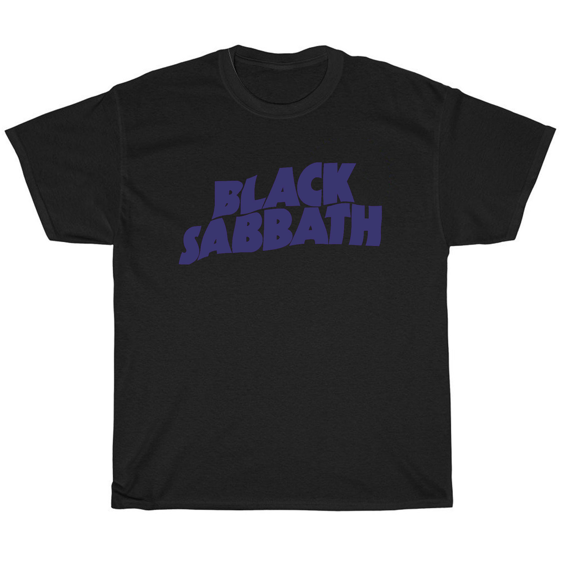 BLACK SABBATH Purple Logo Ozzy T-Shirt T恤