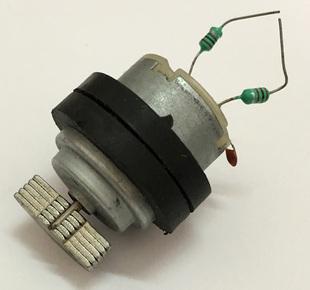 微型直流振动震动电机 电子科技小制作发明材料按摩器玩具马达3v图片