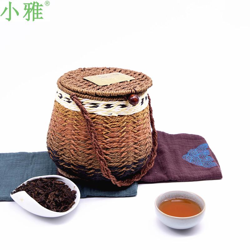 黑茶2009年农家野生茶甘苦共享小雅六堡茶厂500克茶叶七年陈包邮