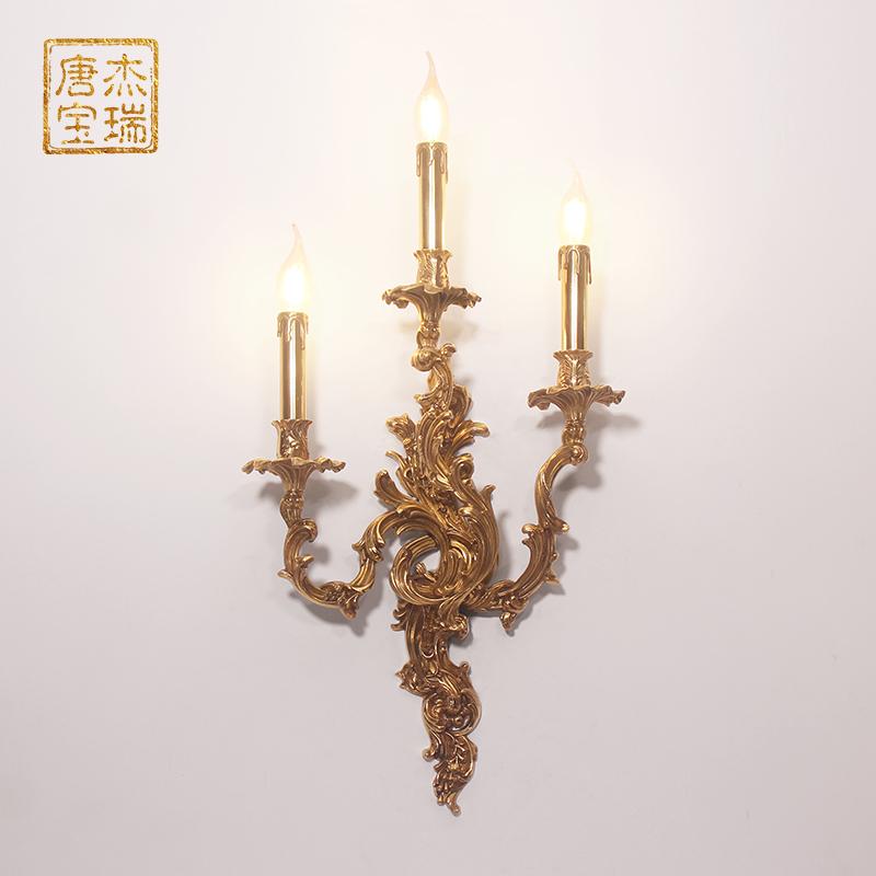 美式铜客厅吊灯