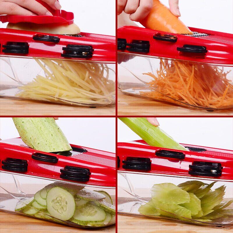 家用土豆丝切丝器厨房擦子多功能切菜萝卜擦丝土豆片切片刨丝神器