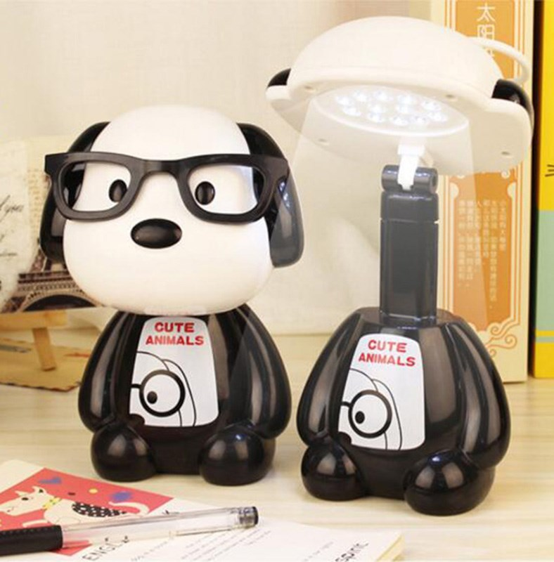 LED充电台灯节能护眼儿童阅读写字折叠书桌可伸缩学习小夜灯包邮-d[s115639502]