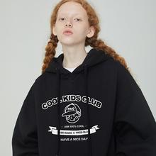 PROD独立设计pf5白男孩卡f8秋季宽松连帽卫衣女廓形外套