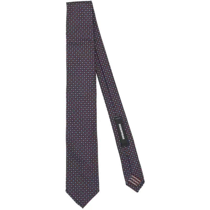包税代购DSquared2/D二次方男2020春季新品领带 其它首饰 轻奢