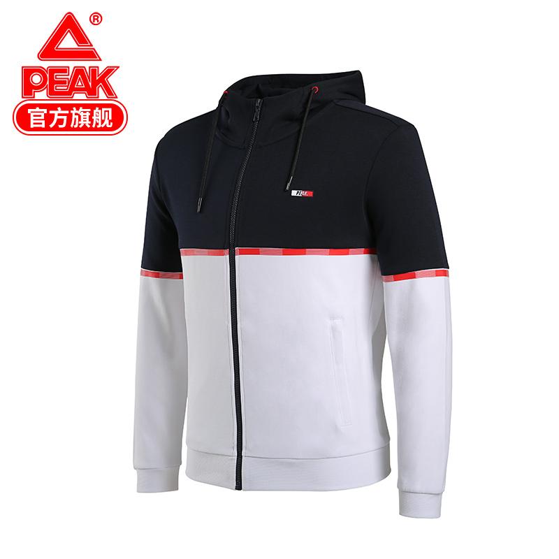匹克夹克男2020新款秋季男士撞色运动外套休闲立领防风衣男装R