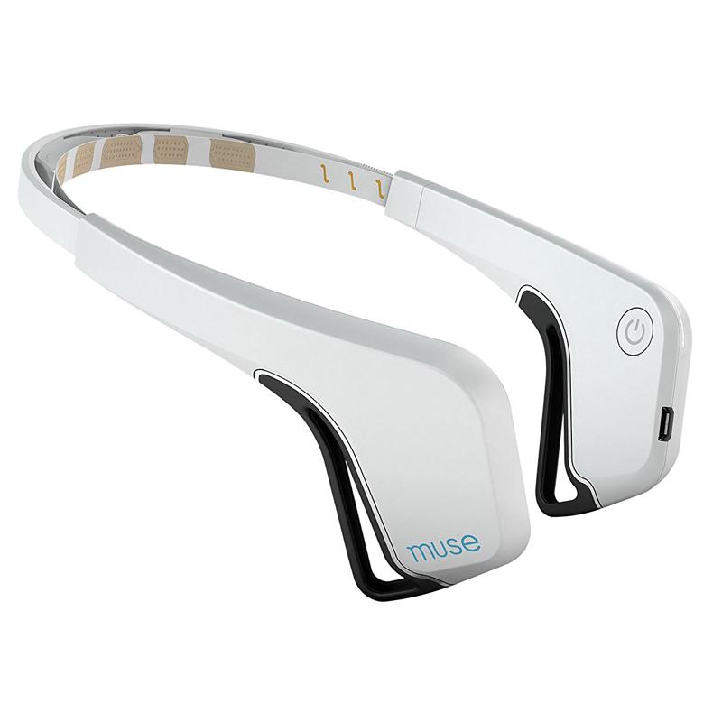 冥想辅助神器Muse Brain Sensing Headband大脑感应智能减压头带
