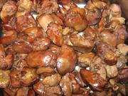 大台北或王家烧鸡 熏酱鸡肝一斤500克 真空包装 请注明要哪家