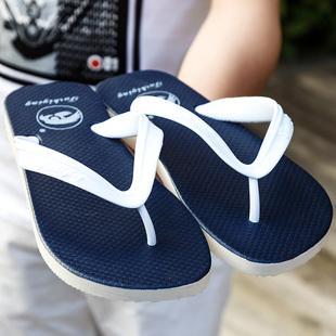 夏季男士拖鞋时尚简约人字拖男防滑软底夹脚橡胶沙滩休闲凉拖鞋潮