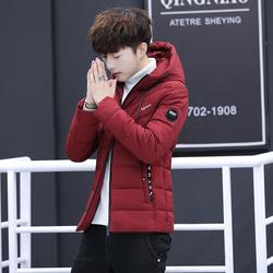 正品牌坦森马男装帅气棉衣男冬季外套韩版潮流羽绒棉服青少年冬装
