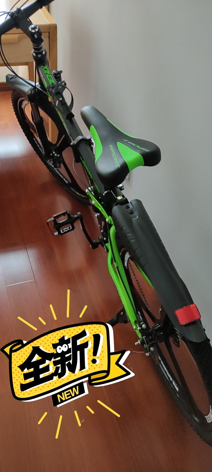 全新折叠自行车,500出手