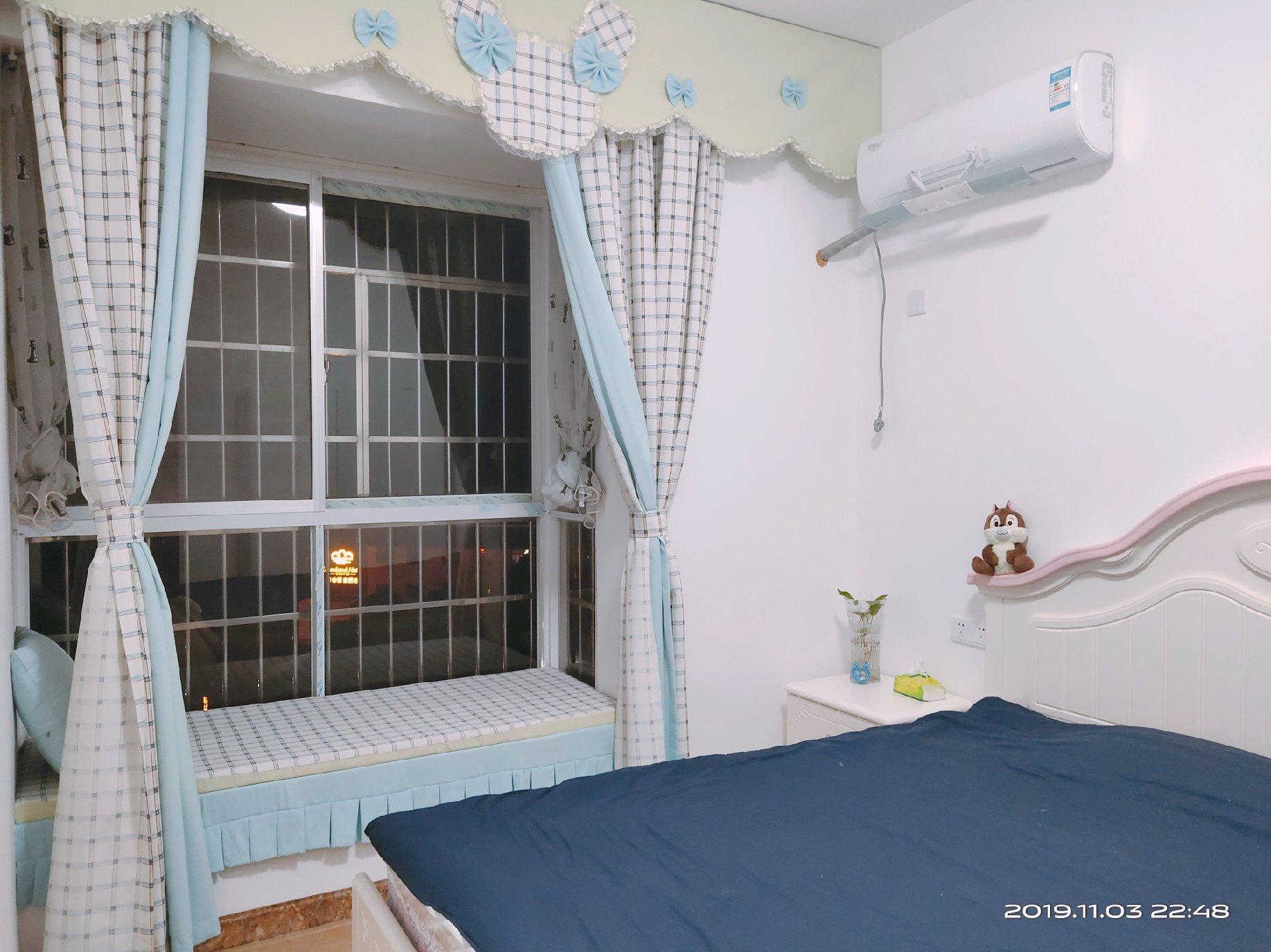 南岳山脚清新风格两室一厅民宿