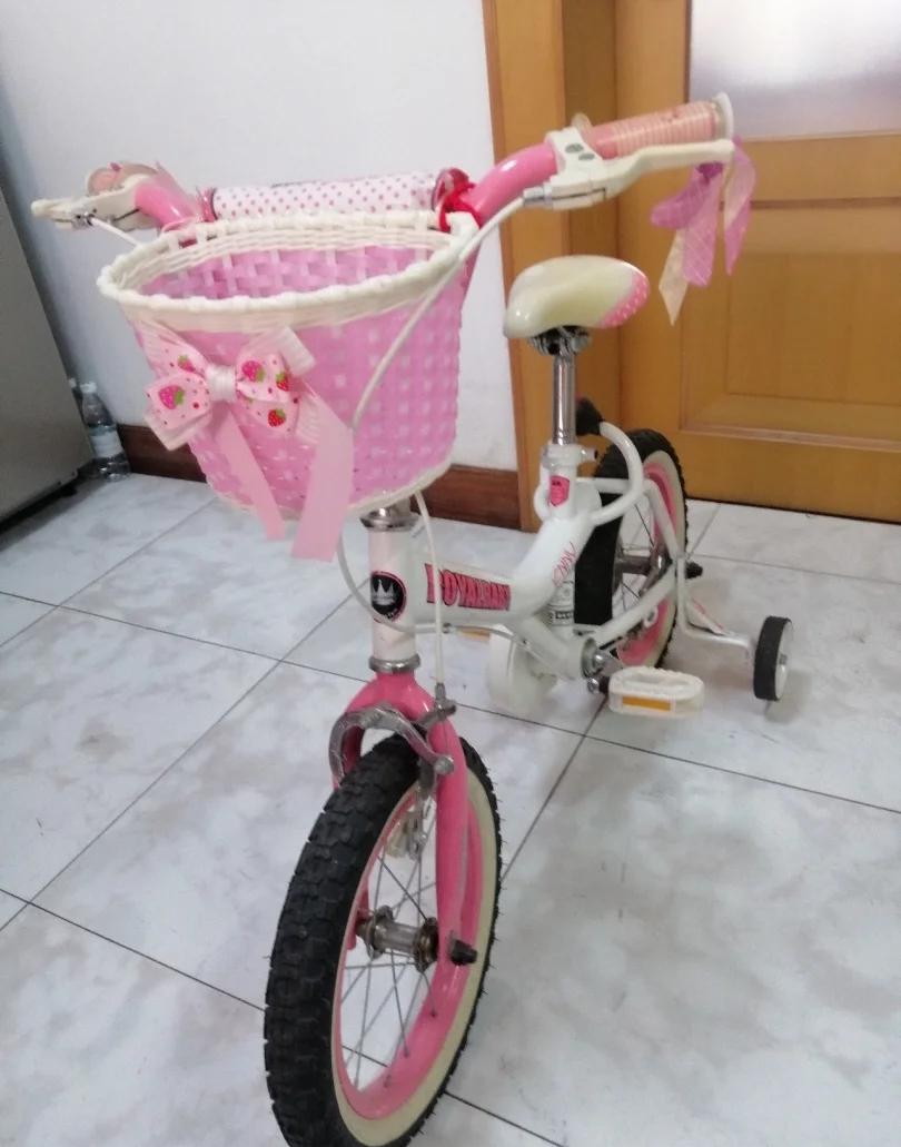优贝珍妮公主自行车,14寸,260元。香坊区自取