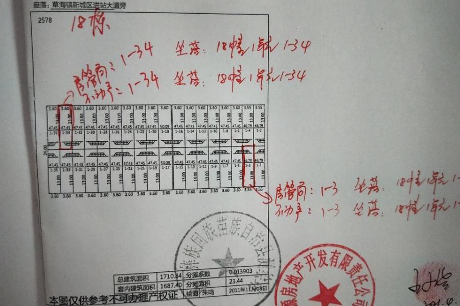 威宁县草海镇大洼塘村草海商贸城2-1-2-42号房产
