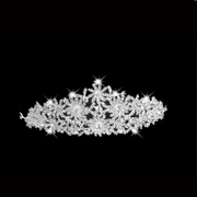 Luxury rhinestone tiara Crown new 2015 the bride wedding accessories height 5 cm, 18 cm length