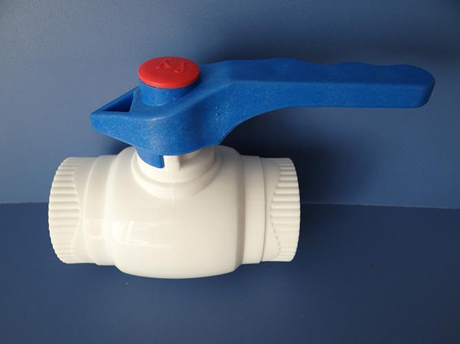 蓝柄精品阀门ppr钢芯水暖管材配件 工程用球阀其他品牌焊接材质固
