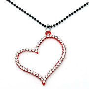 Package mail smiling new heart Korean women pendant necklace collar accessory pendant jewelry pendant jewelry