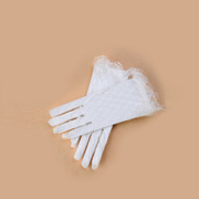 Honey made in Bridal Gloves mittens gloves dress gloves Lace Gloves short yarn ST-11-