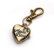 Smiling post authentic new heart-shaped key ring pendant pendant jewelry personality Korean car pendant