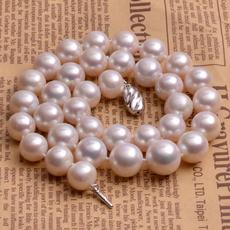宝蒂兹珠宝 【女王】奢华级12-14mm淡水珍珠项链 大珍珠 强光