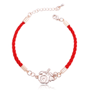 Good Korea Korean fashion jewelry lovers Red String Bracelet bracelets for men and women couples heart hand strap