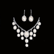 Honey made popular wedding necklace earrings set wedding necklace necklace-