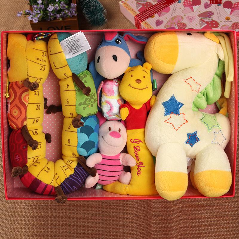 初生婴儿礼盒套装新生儿婴幼母婴用品玩具宝宝满月礼物百天礼包邮