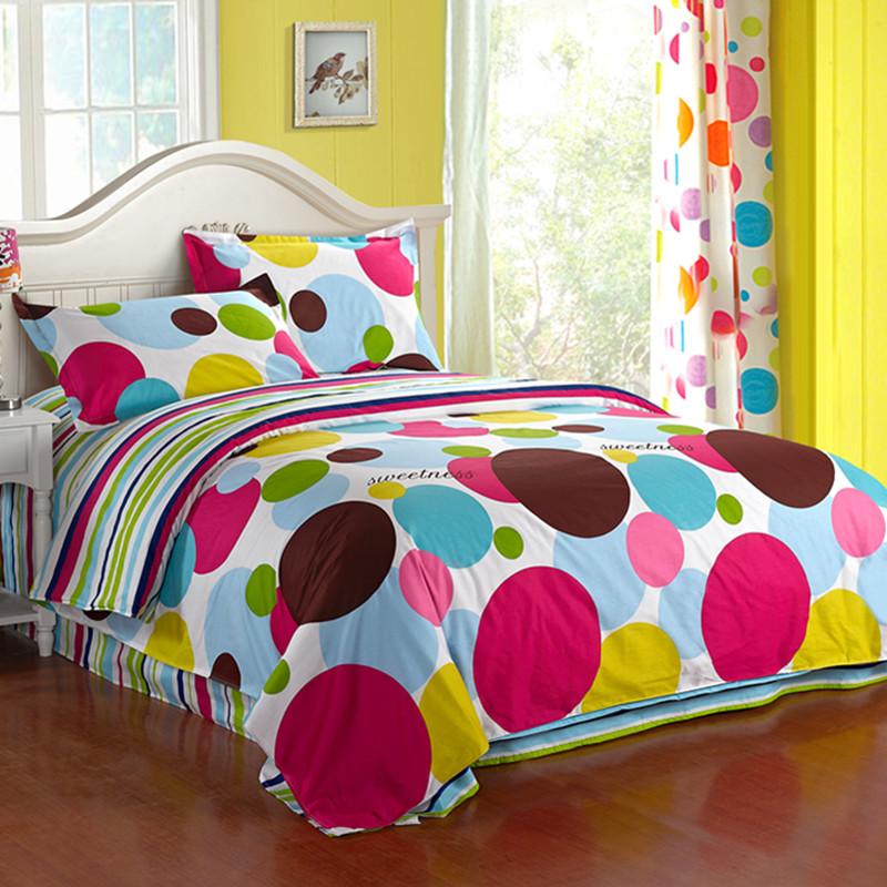 领券减30】全棉三件套1.2m 纯棉床上用品1.5米大学宿舍床单被套