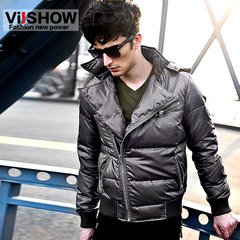 Viishow winter men''s down jacket men short new glossy casual slim fit jacket keep warm men''s jackets