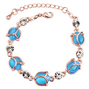 Fashion jewelry fine jewelry Korean rose rhinestone bracelet women jewelry lovers sent his girlfriend a gift bracelet