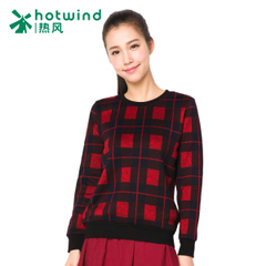 Hot ladies ' spring and autumn ladies red blue Plaid sweater Korean sports and leisure jackets tide 20H5712