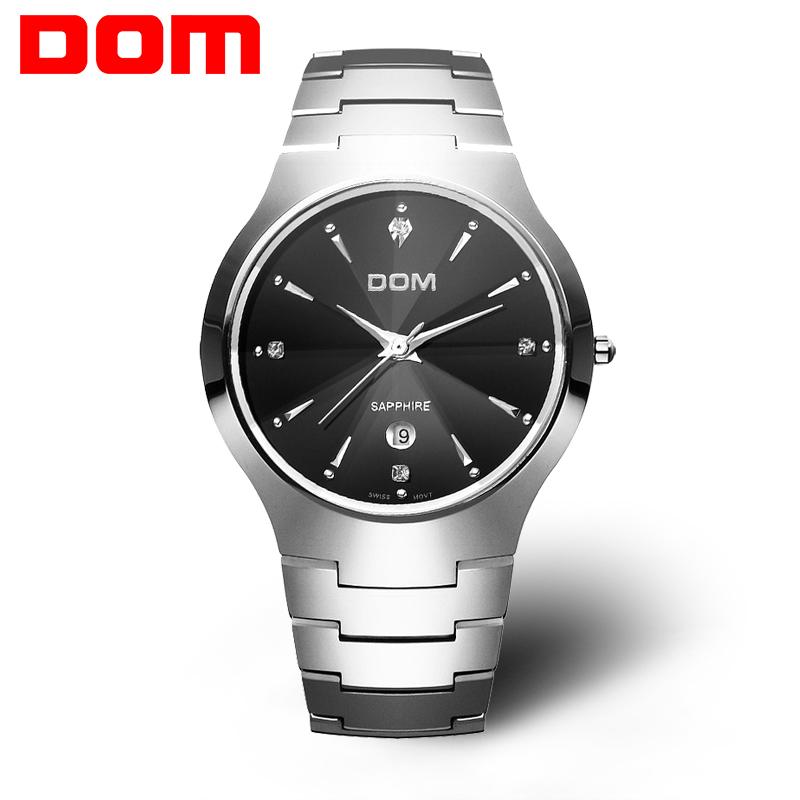 DOM/多姆 腕表 品牌手表/流行手表 石英男表 W-698