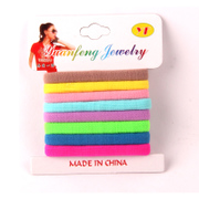Baojing Korea hair jewelry Korean high elastic hair band hair tie seamlessly durable rope hair rubber band jewelry