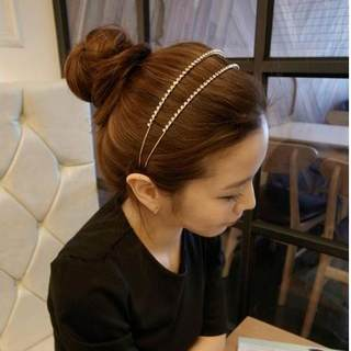 Good Korea hair tiara headband elegant fantasy double drain thin headband hair clip Hairpin, the goddess free shipping