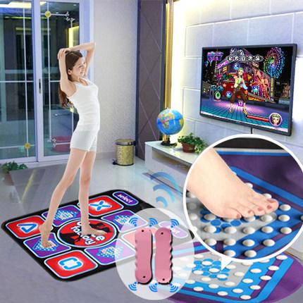 中文高清插卡電視電腦兩用體感按摩單人跳舞毯 單人手舞足蹈包郵 - 37591387101
