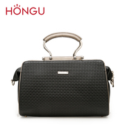 Honggu red Valley female counter genuine cowhide fashion leisure portable single shoulder-slung leather 1816