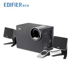 Edifier/漫步者 R201T北美版2.1有源多媒体电脑音箱台式低音炮 响