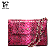 Wanlima/Wan Lima fall/winter purse 2015 new snake wallet Europe vertical large capacity wallets