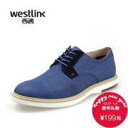2015 West New Board shoes leisure shoes splicing UK trend of men's shoes low men shoes