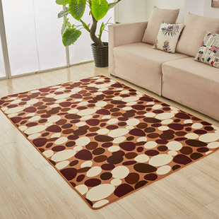 简约现代地毯加厚 卧室客厅茶几飘窗床边沙发满铺长方形家用定做
