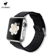 ENMODA 苹果iwatch手表表带 Apple Watch真皮皮带 新款经典带扣