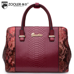 Jules Lady bag new snakeskin leather handbags for fall/winter in Europe and fashionable shoulder bag slung tide